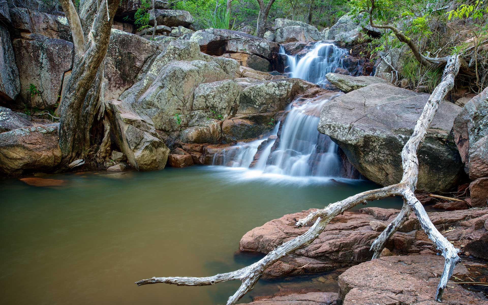 Magnetic Island Waterfall Photography